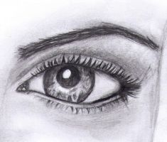 Eye Drawing by AgnetaK