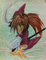 my kenshin drawing by eve1789