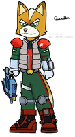 Starfox Assault Fox-Colored by Link2262