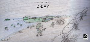 60th Anniversary of D-Day by RyanEchidnaSEAL