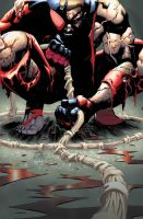 scarlet spider 25 color by RyanStegman