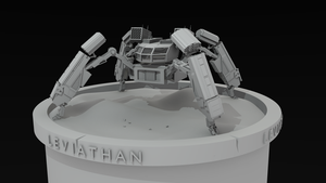 Leviathan Mech Model by ttrlabs