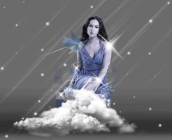 On Cloud Nine:Megan Fox WP by krizalidrocks