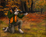 Hunting Dog by Sidonie
