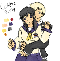 corpse party quick paint by ninjapet