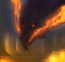 I See Fire by schl4fmuetze