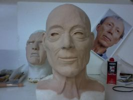 Dick smith Bust by Rengoku-Okamikumo