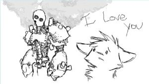 iScribble Robot 2 by PotluckBrigand