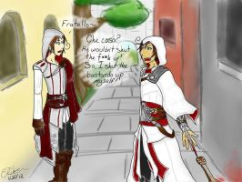 Hetalia meets Assassin's Creed by SuzumeKirei