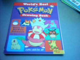 Pokemon drawing book 2 by Names-Tailz