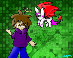 Cu-An and 'Lil D. - Art Trade by Gravitii-CS