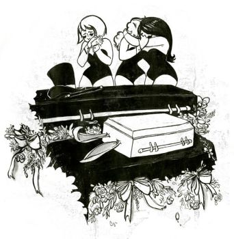 magician's funeral by kate-nooooo