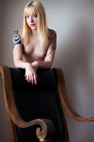 Megan with chair by PerryGallagher