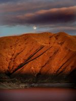 Red Mountain Red River by zasu