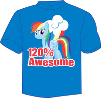 120 percent awesome by WraithX79