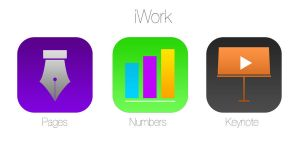 iOS 7 iWork icons redesign Concept by studiomonroe