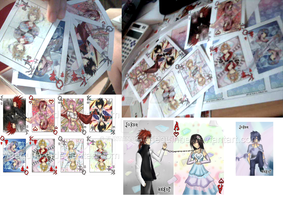 Square Enix - Cards by Arlequinne