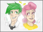 Cosmo and Wanda by bresych