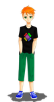 OC No.5) Alex Dell - Hands in pockets by LevelInfinitum