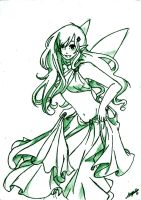 :Fairy:sketch by Art-of-Kawaii