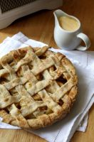Apple Lattice Pie by claremanson