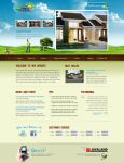 Surya Residence web layout by champchoel
