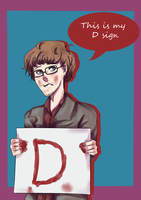 This is my D sign by Sasako