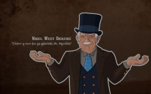 Nigel West Dickens by Wishii