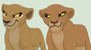Evil Looking Lioneses Base by ChubNarwhalBases