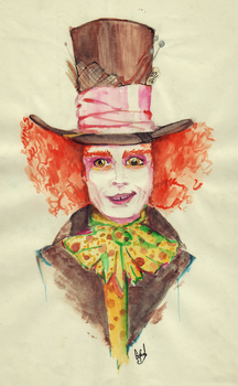 THE MAD HATTER by RockManOver9000