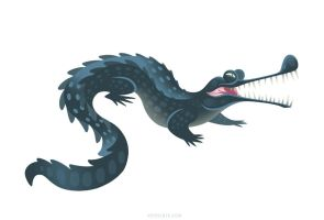 Gharial by Versiris