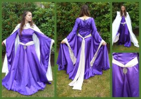 12th Century Royal Violet Gown by krswanson
