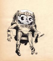 MODOK, deceased by RobertHack