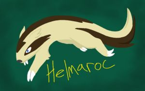 Helmaroc the Linoone by Iron-Zing