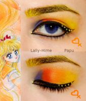 Sailor Venus Makeup by Lally-Hime