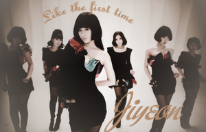 WALLPAPER.~ JIYEON_LIKE THE FIRST TIME by Solita-San