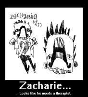 Zacharie Motivational Poster by Cinnamedic