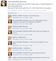 Hetalia Facebook: The Hidden Blog by gilxoz-epicness