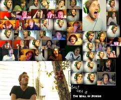 SUPRISE BRO'S! WALL OF PEWDIEPIE! by TheOnePhun211