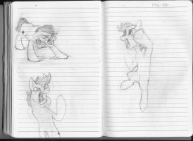 180 Notebook- Pages 98 and 99 by FoxTone