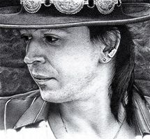 Stevie Ray Vaughan WIP2 by FalconFan