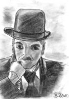 Charles Chaplin by ConfusedCupcake