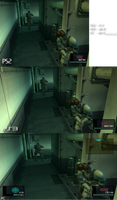 MGS2 PS2 vs PS3 vs PC by dpmm07