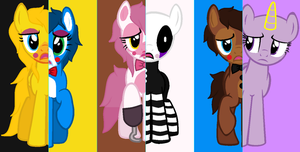 What My Cutie Mark Is Telling Me Fnaf 2 Collab by sebaciel4life