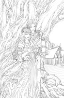 Mother tree by Vyrhelle-comm
