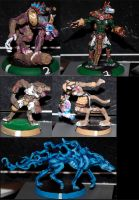 Blood Bowl: Necromantic Specialists by t-subgenius