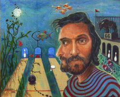 vincent gallo surreal dream by joenamsinh