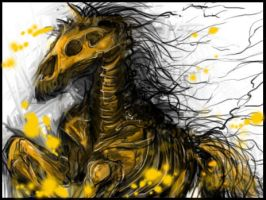 Hollow horse by Dismay666