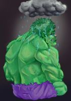Hulk has feeling too u know XD by wolf166