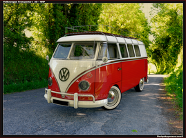 VW Bus T front WIP by Yorzua